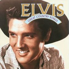Elvis Presley - Great Country Songs (CD, Oct-1996, RCA Records)