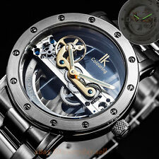 New Military Style Skeleton Automatic Mechanical Men's Wrist Watch Ik Colouring