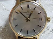Men's Handsome Vintage  ETERNA  MATIC 1000 Date Automatic Mechanical Watch