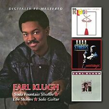 Earl Klugh Soda Fountain Shuffle/Life Stories/Solo Guitar 2-CD NEW SEALED Jazz