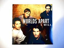 WORLDS APART : I WILL (PROMO)  ★ Port Gratuit - CD Neuf ★ NEW & SEALED