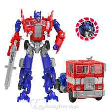 New Transformers Human Alliance Optimus Prime Metal Action Figures With Box