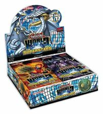 Yu-Gi-Oh! World SuperStars 24 packs Factory Sealed Booster Box. UK Seller
