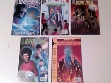 IDW STAR TREK COMICS x 5 LOT