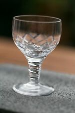 "Stuart Crystal ""Carlingford"" wine glasses."