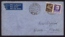POSTA MILITARE 1942 Lettera da PM 68 per Brozzi (FM0)