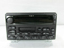 02-05 FORD EXPLORER AM/FM RADIO CASSETTE TAPE & CD PLAYER NO. 4L2T-18C868-DA OEM