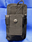 Black Tactical Molle Radio Walkie Talkie Pouch Carrier New (Fits Molle Vest)