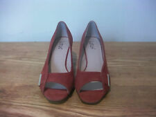 LOTUS SUEDE ORANGE LADYS SHOES SIZE 5(38)