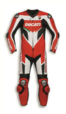 Ducati Motorcycle Leather Suit Sports Racing Genuine Leather Suit 1 & 2Piece