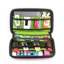 USB Flash Drive Case Storage Carrying Thumb Holder Zipper Bag Travel Organizer