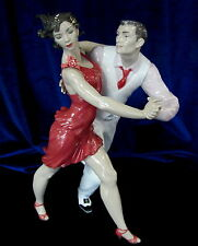 LLADRO SALSA BRAND NIB #9146 DANCER LIMITED EDITION COUPLE DANCING $325 OFF F/SH