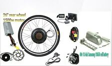 48V 1500W ELECTRIC BIKE CONVERSION KIT with 10.4ah Lithium battery- LCD display
