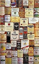 IRISH WHISKEY LABELS -  Large Montage Color Poster - Ireland