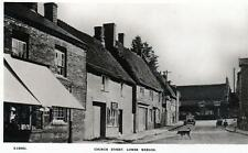 Church Street Lower Weedon RP old postcard by WHS Bridge House