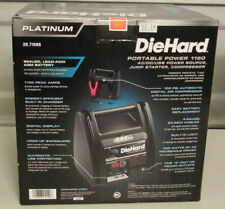 New DieHard Platinum Portable Power 1150 engine jump starter and air compressor
