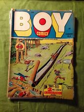 BOY COMICS #32 GD  Lev Gleason 1947 Golden Age