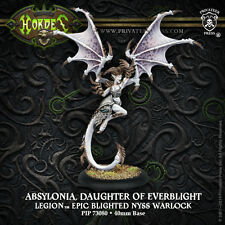 Hordes Warmachine BNIB - Legion Epic Warlock Absylonia Daughter of Everblight