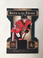 2011-12 Crown Royale Erik Karlsson Heirs To The Throne Jersey