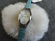 New Terner Quartz Ladies Watch with a Blue Band