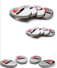 4PCS Car Door Lock cover Stopper Buckle case Cover for Audi A3 A4 A5 A6 Q3 Q5 Q7
