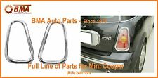 MINI COOPER 2002-2008 CHROME TAIL LAMP LIGHT RINGS - 971040