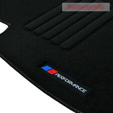 MP Velours Logo Performance PB Fußmatten für BMW E46 Compact Bj.06/2001 - 2005