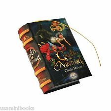 New Cuento de Navidad by Charles Dickens Miniature Book 439 pages Spanish