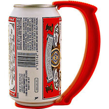 Instant Beer Stein Can Grip Handle - Clips on your Can! - Fun Drinking Bar Gift!