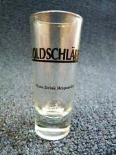 "Shot Glass Goldschlager Please Drink Responsibly 3.5"" (880)"
