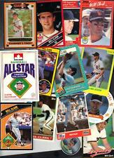 75 Will Clark Rare Food Issue Cards etc Huge Lot Issued 1986-1993 Closeout sale