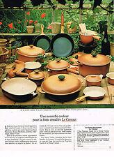 PUBLICITE ADVERTISING 025  1979  LE CREUSET    cocotte MAMA