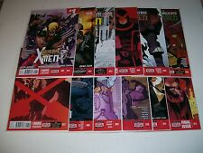 Wolverine and the X-Men (2014) #1-12 Marvel Now Codes Unused