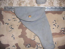 WWII 1942 British Military Canvas Holster MS & U LTD Webley Enfield S&W Victory