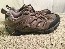 Merrell Moab Walnut Hiking Shoes Men's Size 8.5 Continuum Vibram Soles