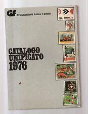 catalogo unificato francobolli italia 1976 -