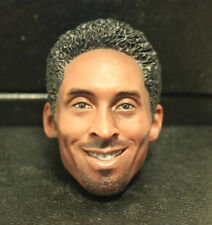 Custom ! kobe bryant smile Afro hair HEAD ONLY crazy 8  instock headplay