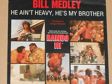 "BILL MEDLEY -Rambo III - Soundtrack- 7"" 45 OST"