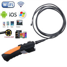 3M 5.5mm WIFI Endoscope Inspection Snake Camera Borescope For iPhone IOS Android