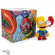 Bart Simpson by Kenny Scharf x Kidrobot -  6 inch Vinyl Figure Brand New