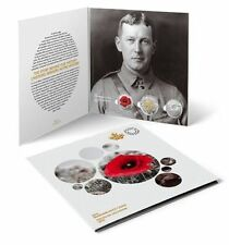 Canada 2015 Remembrance Coin Card Poppy Quarters and Toonie Set Flanders