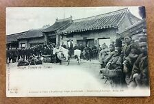 {BJ Stamps}  1901 CHINA photo card PEKING cancels Dragons Haupt-Yamen in Tsimo