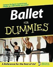 Ballet for Dummies BRAND NEW BOOK, TECHNIQUE, EXERCISE, DANCE