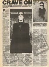 8/9/90 Pgn13 Article & Picture Perry Farrell Cult Hero Of Janes Addiction