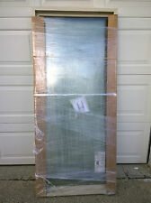 NEW: Big Almond-Color Vinyl Home PICTURE WINDOW w/ Double-Strength Glass 30x66