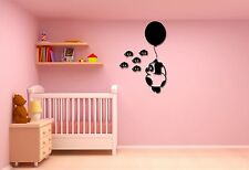 Wall Stickers Vinyl Decal Nursery for Kids Bear Balloon Bees ig587