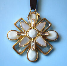 """Kate Spade Bejeweled Kaleidoscope Ornament 3"""" Annual 2013 by Lenox New"""