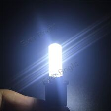 10X 12V T10 194 W5W Silica Gel 5050 6SMD Car LED License Plate Bulb Cold White