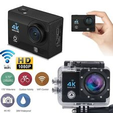 "4K 2"" Ultra HD 1080P Cámara wifi Deportes Acción Cámara DV grabadora de video HDMI 16MP"