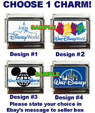 Disney World Resort Sign Custom Italian Charm Magic Kingdom choose!